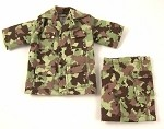 BDU Short-Sleeve Shirt & Cargo Shorts Set (Gearhead Camo)