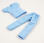 Medical Scrubs (Female/Light Blue)