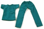 Medical Scrubs (Female/Teal)