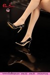 High Heel Shoes (Black)<BR>PRE-ORDER: ETA Q1 2020