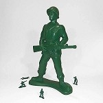 Jumbo Army Man: At Ease Soldier