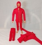 Red Frogman Outfit Set (Neoprene Material)
