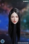 Aurora Female Head Sculpt (Long Black Hair)<BR>PRE-ORDER: ETA Q2 2021