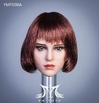 Marty Female Head Sculpt (Short Bob)<BR>PRE-ORDER: ETA Q1 2021