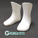 Super Boots (White)<BR>PRE-ORDER: ETA Oct. 2020