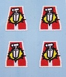 'Adversaries' Uniform Decals