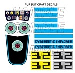 Cybernetic Explorer Pursuit Craft Decal Set