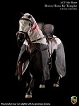 War Horse for Medieval Templar Knights (Brown)
