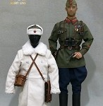 WWII Soviet Army Lieutenant Uniform Set (1942)