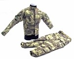 ATACS AU Camo Jacket & Pants w/Belt<BR>