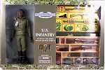 Timeless Collection Action Soldier w/Footlocker,  African Amer<BR>Target Exclusive, C-8 box
