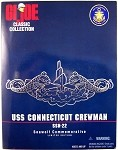 USS Connecticut Crewman, Seawolf Commemorative (Cauc.)