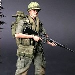 US Army 25th Infantry Private (Vietnam)<BR>(1:12 Scale Pocket Elite)