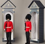 The Guards Sentry Box