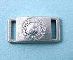 Belt Buckle: German Army, Silver