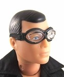 Goggles: Oval Lens, Black Edge