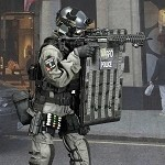 British Specialist Firearms Command Shieldman
