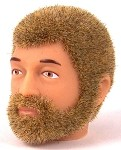 Head - Jake Blond Fuzzy with Beard<BR>
