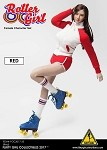 Roller Girl Outfit & Head Sculpt Set (Red)