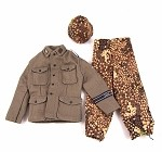 German Panzer Grenadier Tunic, Trousers & Helmet