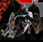 Star Wars: Darth Maul with Sith Speeder