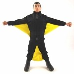 Wingsuit (Black/Yellow)