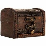 Wooden Trunk (Small, Brown)