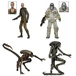 Aliens<BR>Series 8 Assortment<BR>Set of 3 Figures<BR>(1:10 Scale)