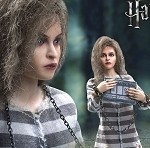Harry Potter Series<BR>Bellatrix Lastrange (Prisoner Version)