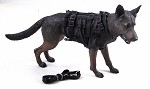 Malinois Dog with Harness & Leash<BR>