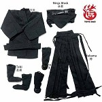 Ninja Outfit Set (Black)<BR>PRE-ORDER: ETA Dec. 2019