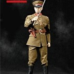 WWII Japanese Officer Figure Set (Brown Uniform)