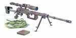 Cheytac M200 Sniper Rifle (Tan Camo) with Cloth Wraps