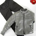 Sands Leather Jacket (Gray)