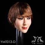 Penelope Female Head Sculpt  - Auburn Pixie Cut<BR>PRE-ORDER: ETA Q1 2020