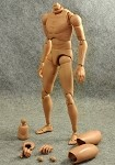Male Figure Body (Caucasian/Wide Shoulders)<BR>PRE-ORDER: ETA Q1 2020