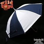 Umbrella (White and Blue)